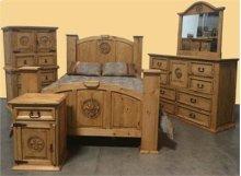"""Dresser : 36"""" x 59"""" x 19"""" Fleur de lis Collection"""