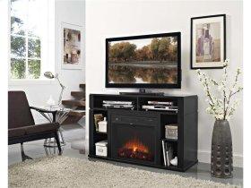 Entertainment Fireplace w/ TV Mount