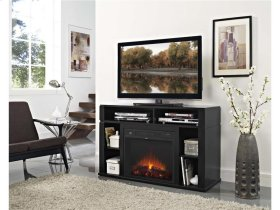 Entertainment Fireplace w/ TV Mount