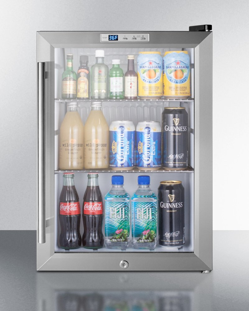 Countertop Beverage Cooler : Additional Commercially Approved Countertop Beverage Cooler With Glass ...