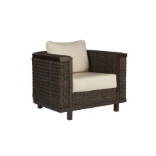 Epicenters Brentwood Outdoor Wicker Club Chair