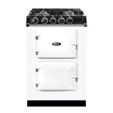 White AGA City 24 Dual Fuel