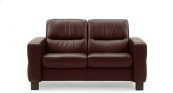 Stressless Wave Lowback Medium Loveseat