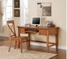 "Oslo Writing Desk, Oak 54""x28""x30"" Product Image"
