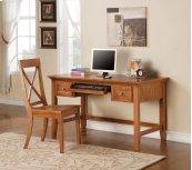 """Oslo Writing Desk, Oak 54""""x28""""x30"""""""