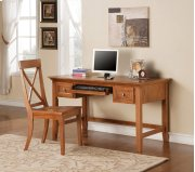 "Oslo Writing Desk, Oak 54""x28""x30"" Product Image"