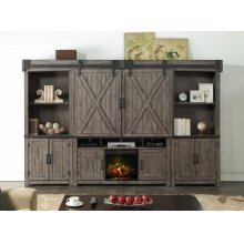 """Storehouse 60"""" Fireplace Console"""