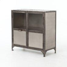 Antique Nickel Finish Element Sideboard