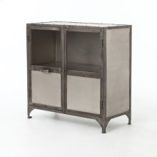 Antique Nickel Finish Element Sideboard