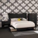 4-Piece Bedroom Set - Pure Black Product Image