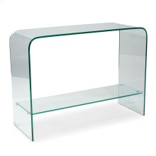 Sono Console Table Glass