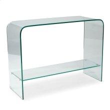 Sono Console Table Glass