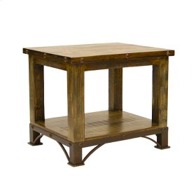 Urban Rustic End Table