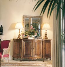 Bonnille Credenza With Marble Top