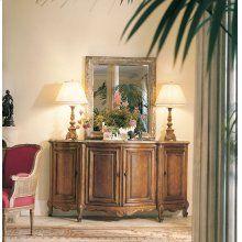 Coeur De France Bonnille Credenza With Marble Top