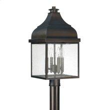 4 Light Outdoor Post Lantern
