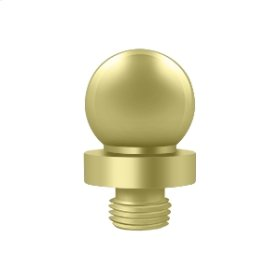"Ball Tip for 6"" x 6"" Hinges - Polished Brass"