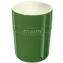 Staub Ceramics Utensil Holder, Basil