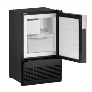 "U-LineMarine Series 14"" Marine Crescent Ice Maker With Black Solid Finish And Field Reversible Door Swing (220-240 Volts / 50 Hz)"