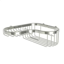 Polished Nickel Large Combination Corner Basket