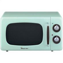 .7 Cubic -ft 700-Watt Retro Microwave (Mint Green)