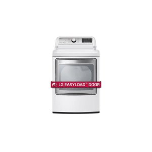 LG Appliances7.3 cu. ft. Ultra Large Capacity TurboSteam™ Gas Dryer with EasyLoad™ Door