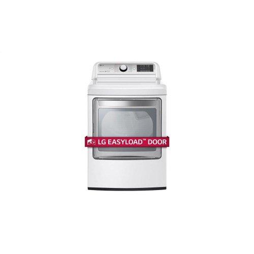 7 3 cu  ft  Ultra Large Capacity TurboSteam Gas Dryer with EasyLoad Door