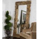 Teak Root Natural Mirror Product Image