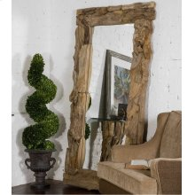 Teak Root Natural Mirror