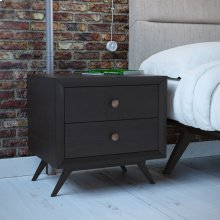 Tracy Nightstand in Black