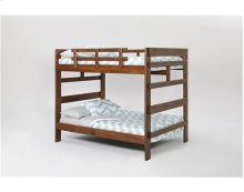 Heartland Full over Full Bunk Bed with options: Chocolate, Full over Full, Twin Trundle