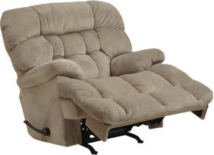 Chaise Rocker Recl w/Heat & Massage - Driftwood