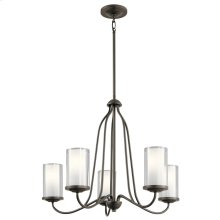 Lorin Collection Lorin 5 Light Chandelier OZ