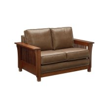 Bungalow Loveseat - GENESIS Leather