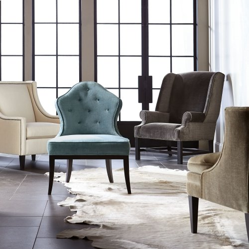 Allison Chair in Mocha (751)