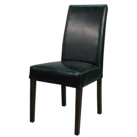Hartford Bonded Leather Chair, Black