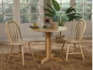 Butcher Block Dining Set with 2 Chairs Product Image