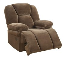 Emerald Home Caressa Swivel Glider Recliner Brown U7052-04-05