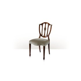 Palmerstone's Brass Rosette Dinner Sidechair, #plain#