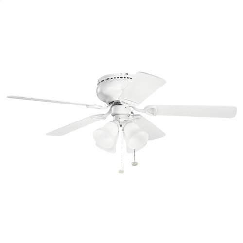 "Stratmoor 52"" Collection 52 Inch Stratmoor Fan WH"
