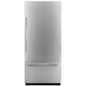 "Jenn-AirPro-Style® 36"" Fully Integrated Built-In Bottom-Freezer Right-Hand Door Swing Panel-Kit"