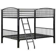 Full Black Econo Bunk Bed