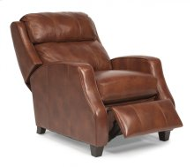 Pirouette Leather Power High-Leg Recliner