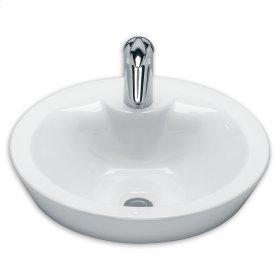 White Loft Above Counter Sink