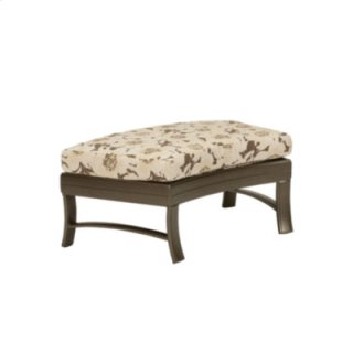 Ravello Cushion Crescent Ottoman Bench 38 x 24