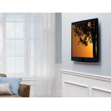 """Black HDPro Super Slim Fixed-Position Wall Mount for 32"""" - 50"""" flat-panel TVs"""