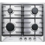 MieleKM 360 LP Gas cooktop with 4 burners