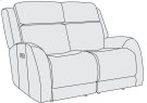 Rawlings Power Motion Loveseat Product Image