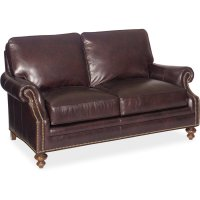Bradington Young West Haven Stationary Loveseat 8-Way Tie 759-75 Product Image