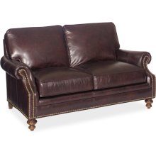 Bradington Young West Haven Stationary Loveseat 8-Way Tie 759-75